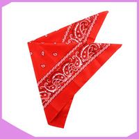 Wholesale Screen Printed Custom Cotton Bandana