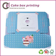 High quality custom made birthday cake packaging box