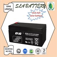 12v3.4ah deep cycle battery selead lead acid battery maintenance free battery