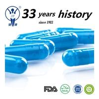 blue gelatin capsules