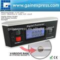 ângulo de nível digital inclinômetro transferidor magnético v- groove 0~360 grau com backlight uso industrial e automotivo