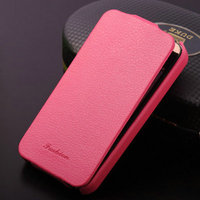 Promotional china cell phone accessory of universal leather mobile phone case pouches for Iphone 4/4S