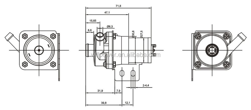 advanced type hot sale standard micro pump for car wash