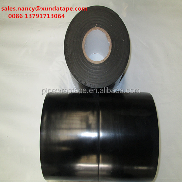 Anti corrosion pipe butyl rubber cold applied wrap tape