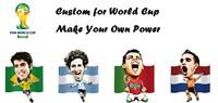 brazil souvenirs world cup brazil soccer 2014 ferrari power bank