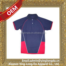 Low price hot sell 100 polyester men polo t shirt