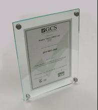 Clear Acrylic certificate holder/acrylic file holder/acrylic photo frame