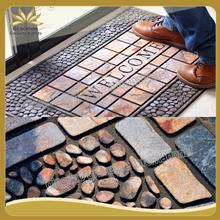 dedusting recycle rubber outdoor floor mat