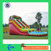 giant and cheap inflatable slide for kids and adults with blower
