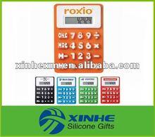 Hot sale silicone solar calculator