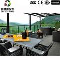 Reciclado plástico madeira / plástico madeira / WPC piso decks