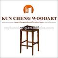 Material de madera sólida elegante diseño de alta patas de sillas de madera/zapatos de tacón alto de muebles de comedor