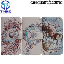 Plus056 Color Printing Mobile Phone PU Leather Case for iPhone 6 Plus