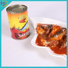 Providing OEM brand for canned sardine in tomato sauce