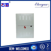 Customized distribution box/SK-6555/wall mount electrical enclosure weatherproof/waterproof outdoor telecom cabinet
