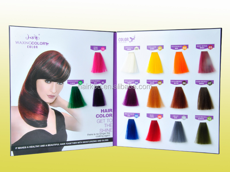 International Salon Hair Color Chart With 104 Colors For