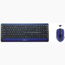 Wholesale high quality wireless keyboard and mouse combo sets with Mac Keycap Structure