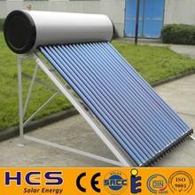 copper pipe intergrated high pressure solar water heater