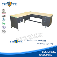 Steel office furniture office counter table design computer desk malaysia