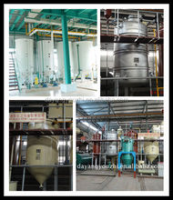 cooking oil making plant/crude oil refinery