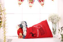 Santa Merry Christmas Toy gift bag
