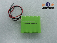 Ni-Mh AAA 800mAh 12V Rechargeable Battery pack