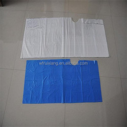 disposable beauty salon caps/apron for hairdress use