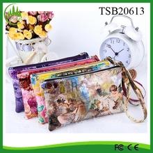 Hot New Products 2015 Wholesale Vintage Women Shoulder PU Waterproof Mobile Phone Wallet Cell Phone Belt Bag