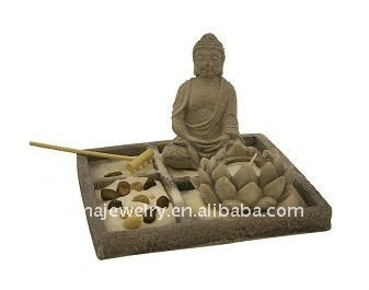 Asian Japanese Feng Shui arena Zen garden, Mesa Zen Garden Kit