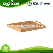 Custom Made SGS Direct Price Anti-Slip Tin Serving Tray
