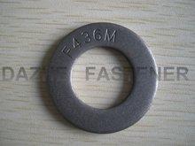 Carbon steel hardened black F436M flat washer