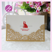 QJ-89 Best sell party invitation card arabic wedding invitation cards wholesale