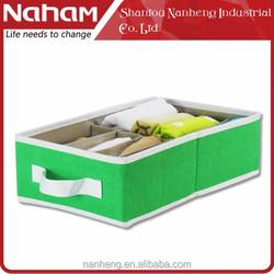 NAHAM elegant Martin Fabric Folding underwear storage box