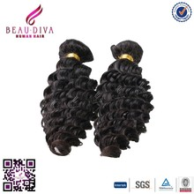 7a brazilian unprocessed virgin hair brazilian loose deep wave hair weave Ripple Deep