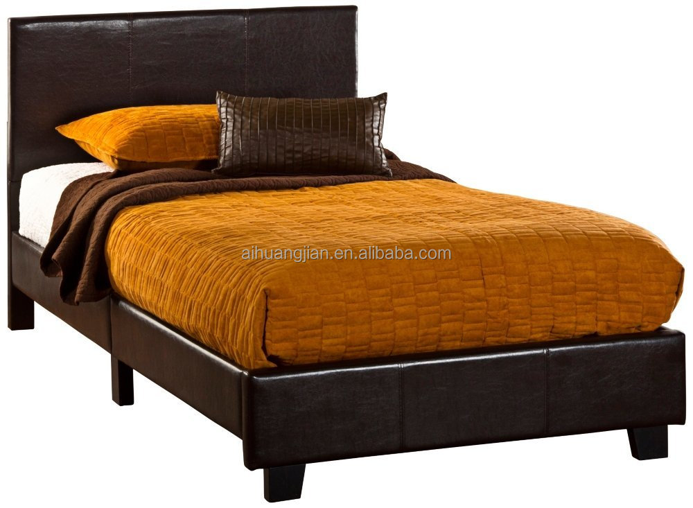 Simple Faux Leather Bed Faux Leather Sofa Bed For Sale Cheap Faux Leather Bed 206 View