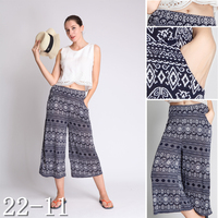 Wholesales Thai Rayon Casual Lady Pants in Small MOQ