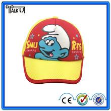 100% cotton cartoon baby children baseball cap/ kids hat