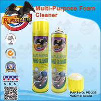 Power Eagle 600ML Multi-Purpose Foam Cleaner with Brush Caps