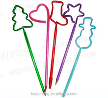 Coustom Christmas Presents Shape Pen for Promotional Gifts CH-6717