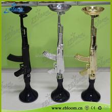 Wholesale gun shisha hookah ak47 hot sale cool design ak47 hookah