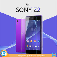 9H Tempered Glass Ultra Clear Anti Scrtch Sticker for Sony Z2