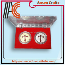 Folk Art Style and Souvenir Use Cheap Custom Challenge Coins