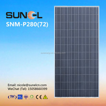 280watts solar panel price--China factory direct