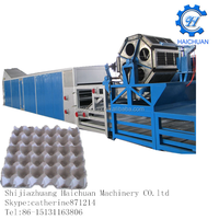 Enviromental pulp moulding forming machine India