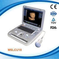MSLCU18D Mejor maquina de ultrasonido / ecografia 4D equipos portatiles de ultrasonido 4D escaner / 4D