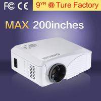 Top Quality Low Price LED Mini Projectors Support Full HD X Video Movies 1800 Lumens 1080p Home Theater HDMI AV VGA AUDIO USB TV