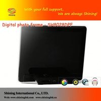 SH8028DPF black digital photo frame 8inch lcd screen