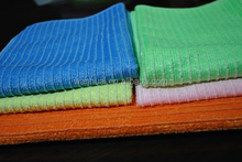 006 Floor Shiny Terry microfiber cleaning cloth