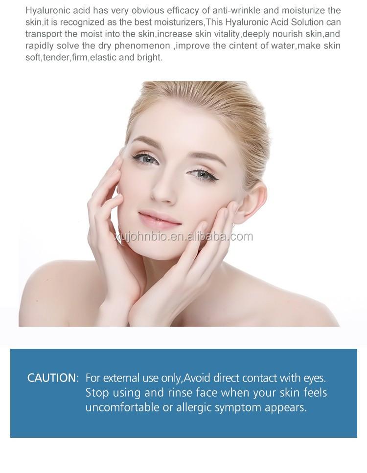 Privé Lable Blanchissant Ampoule D'acide Hyaluronique Et Masque Facial Peau Beauté Produit