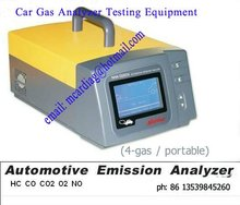 petrol measurement equipment Gas analyzer GAS emition testing equipment 4Gas analyzer